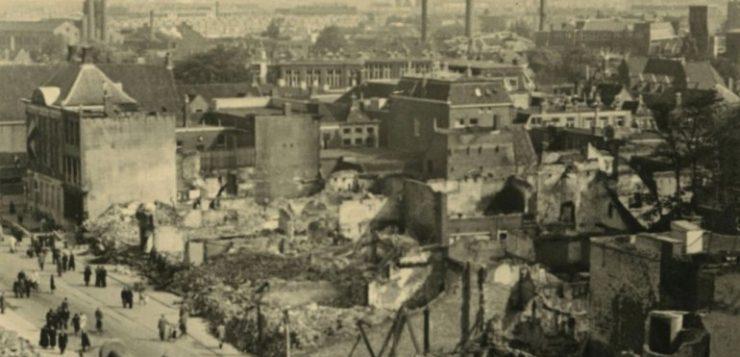Zoektocht naar 25 meest indrukwekkende foto's van Groningen in oorlogstijd