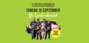 Zondag 19 september muziek voor iedereen